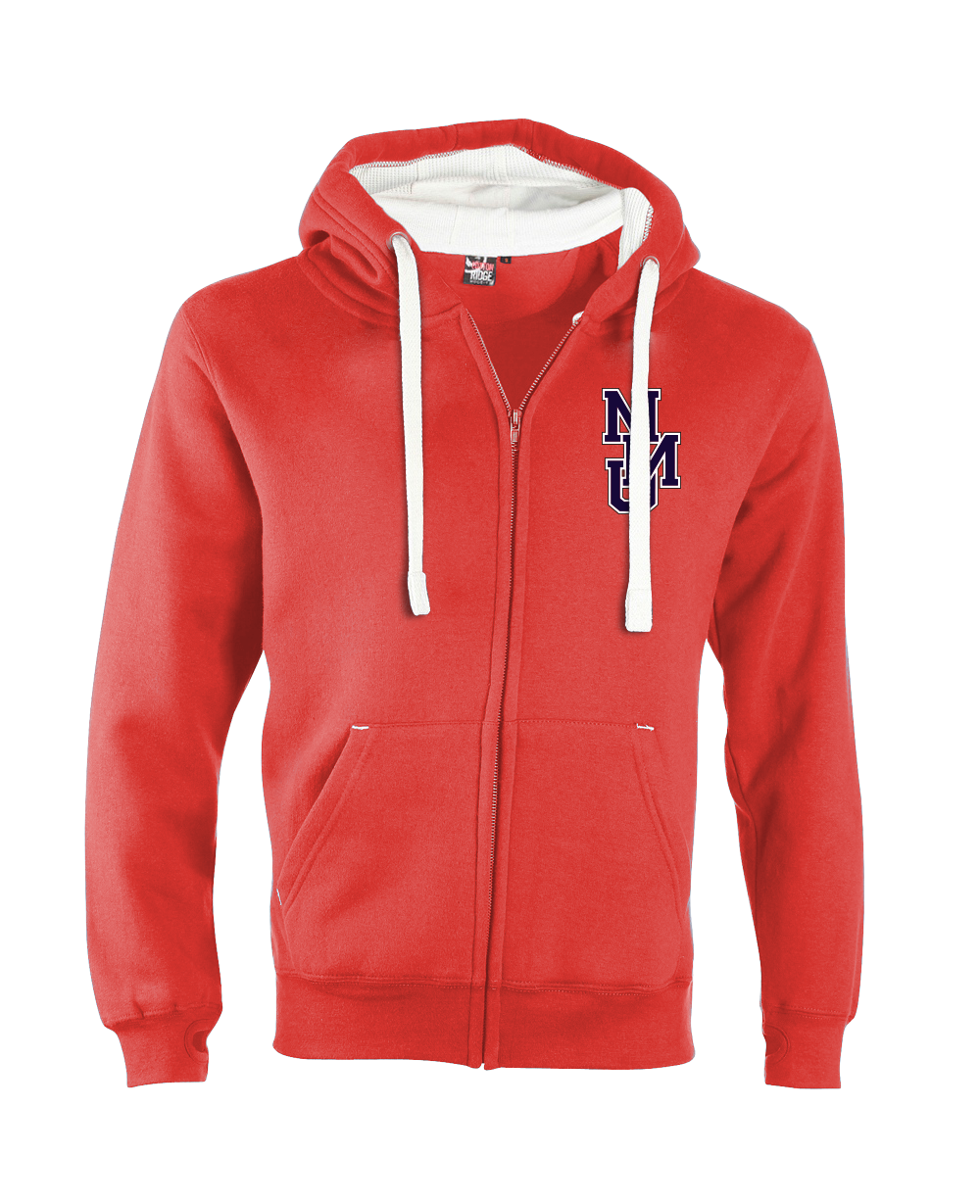 W81PF-2011-Manchester Metropolitan University Ultra Soft Feel Hooded Top